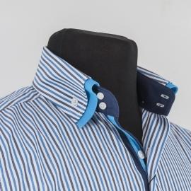 Мужская сорочка в полоску Tunica Benefit